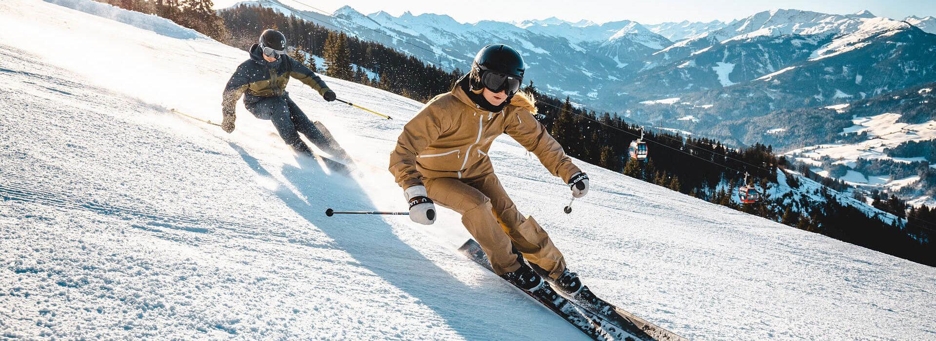 Sportlicher Skitag auf der Hohen Salve