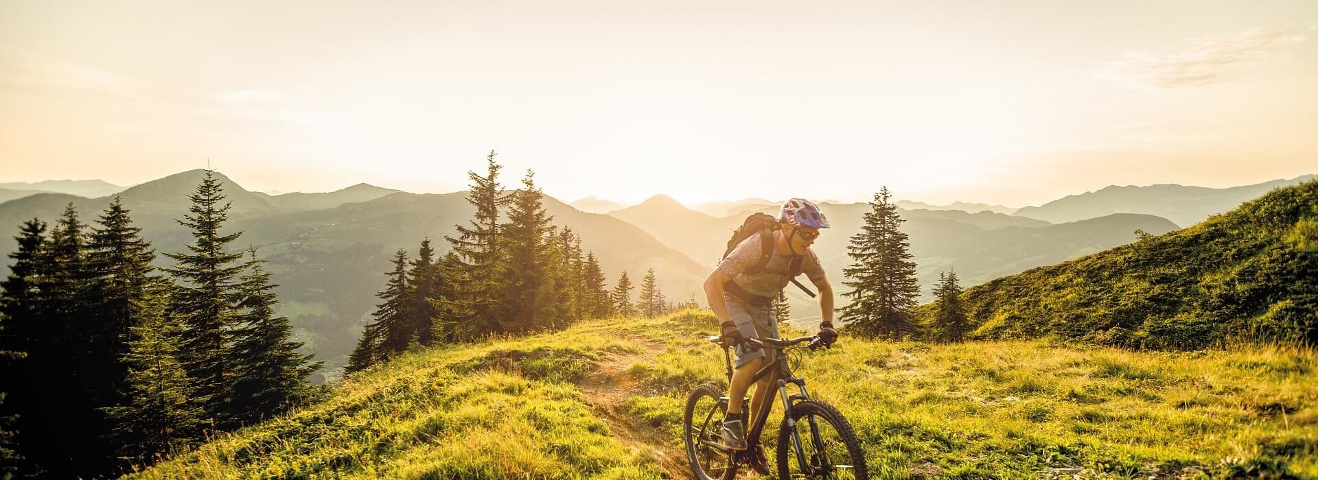 Mountainbiken in der Ferienregion Hohe Salve